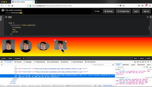 Firefox 58 Shape Path Editor