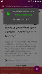 Firefox Klar 4.1