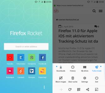 Firefox Rocket 1.1