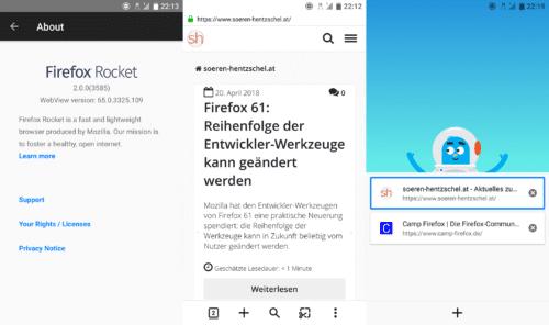 Firefox Rocket 2.0
