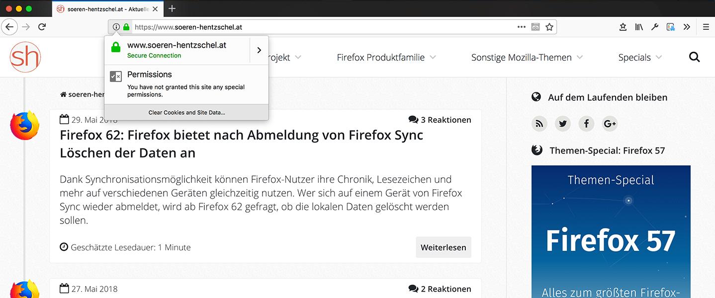 Mozilla plant aufgebohrten Tracking-Schutz für Firefox 62