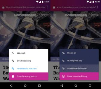Firefox Klar Redesign 2018
