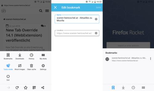Firefox Rocket 2.3