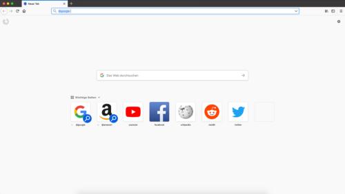 Firefox 62 Such-Kacheln