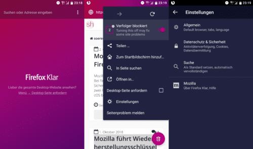 Firefox Klar 7.0