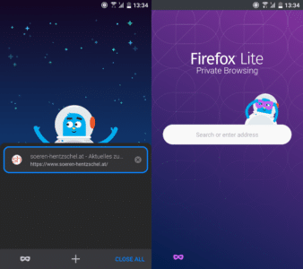 Firefox Lite 1.0