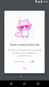Firefox Klar Werbeblocker