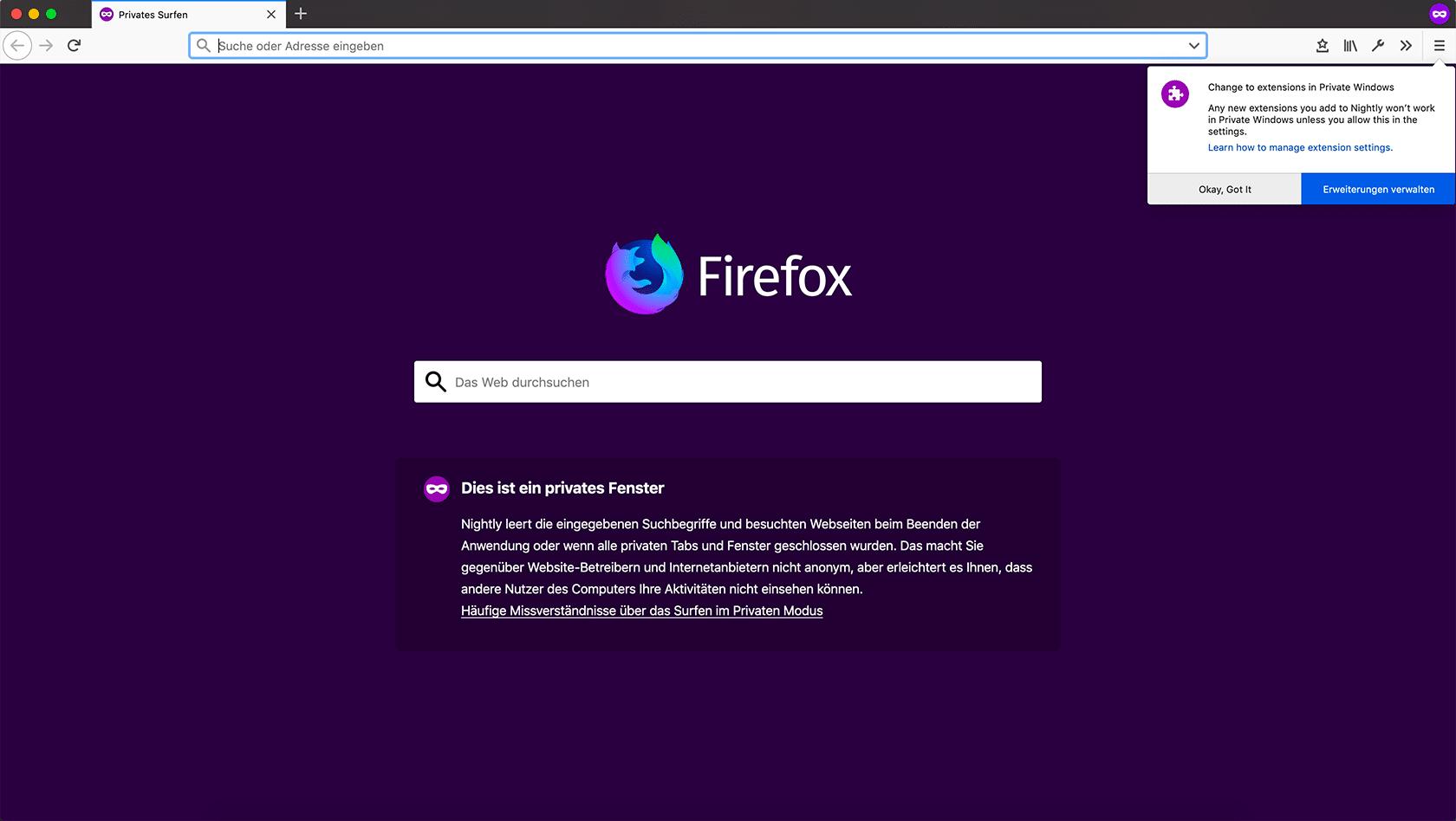 Mozilla veröffentlicht Firefox 67 mit WebRender und Cryptomining-Blocker