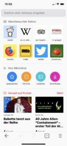 Firefox 16.0 für Apple iOS