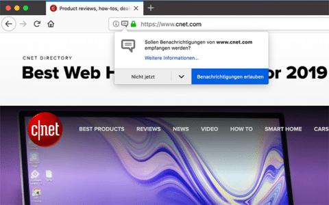 Web-Benachrichtigungen