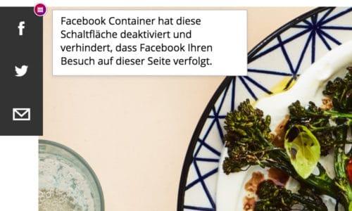 Facebook Container 2.0