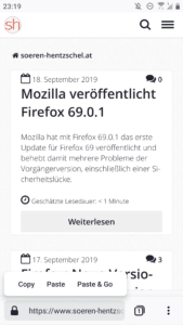Firefox Preview 2.0