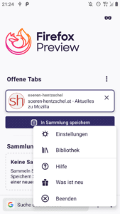 Firefox Preview 2.2
