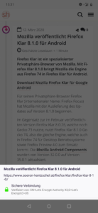 Firefox Preview 4.0: Seiteninformationen