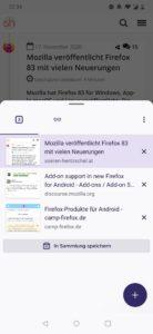 Firefox 83 für Android