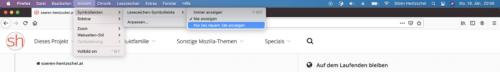 Améliorations apportées aux favoris dans Firefox 85