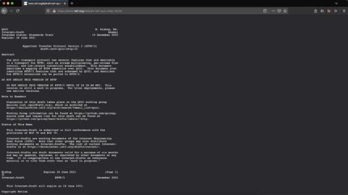 Text-Dokumente im Dark-Mode Firefox 86