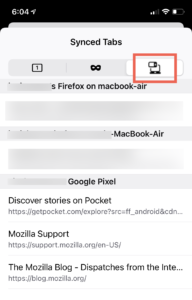 Firefox 34 für iOS