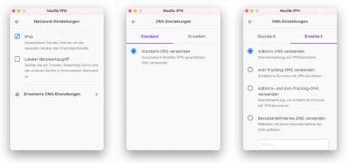 Mozilla VPN 2.5